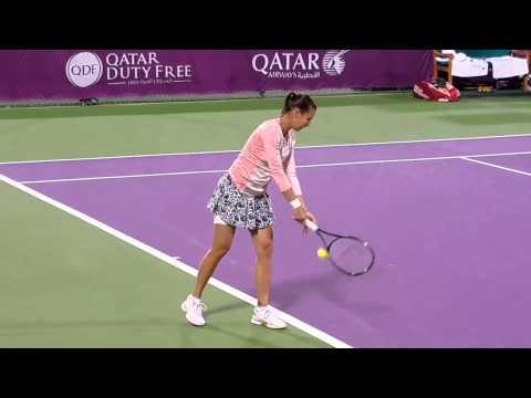 Flavia Pennetta-Martina Hingis (Qatar 2015) Doha WTA