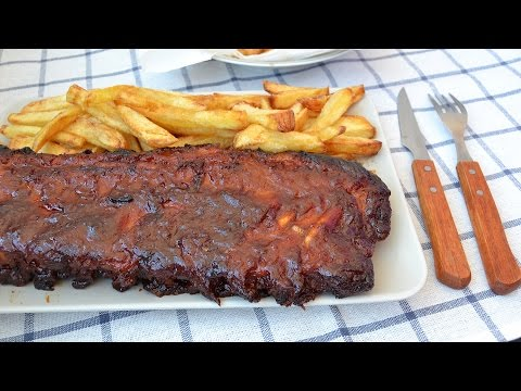 How to Make BBQ Pork Ribs - Easy Oven-Baked Barbecue Pork Ribs Recipe