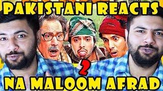 Pakistani Reacts to Na Maloom Afrad 2   Fahad Mustafa   Javed Sheikh
