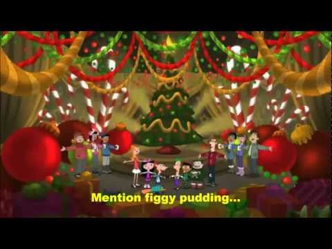 A Phineas and Ferb Family Christmas-We Wish You A Merry Christmas Lyrics(HD)