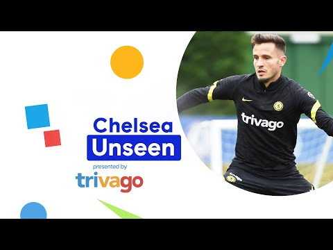 Saul Niguez goes to work at Cobham |  Invisible chelsea