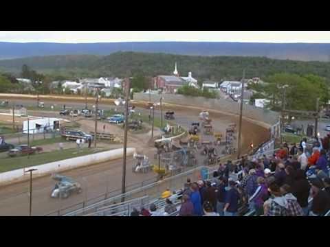Port Royal Speedway 410 Sprint Highlights 5-09-09