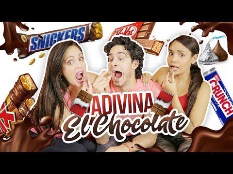 ADIVINA EL CHOCOLATE ft. Sandra Cires & Harold Artist 🔓 #AbrilDeColaboraciones