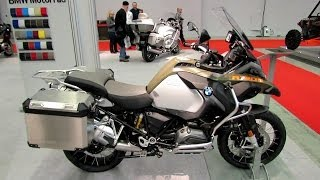 2014 BMW R1200GS Adventure Walkaround - 2014 Montreal Motorcycle Show