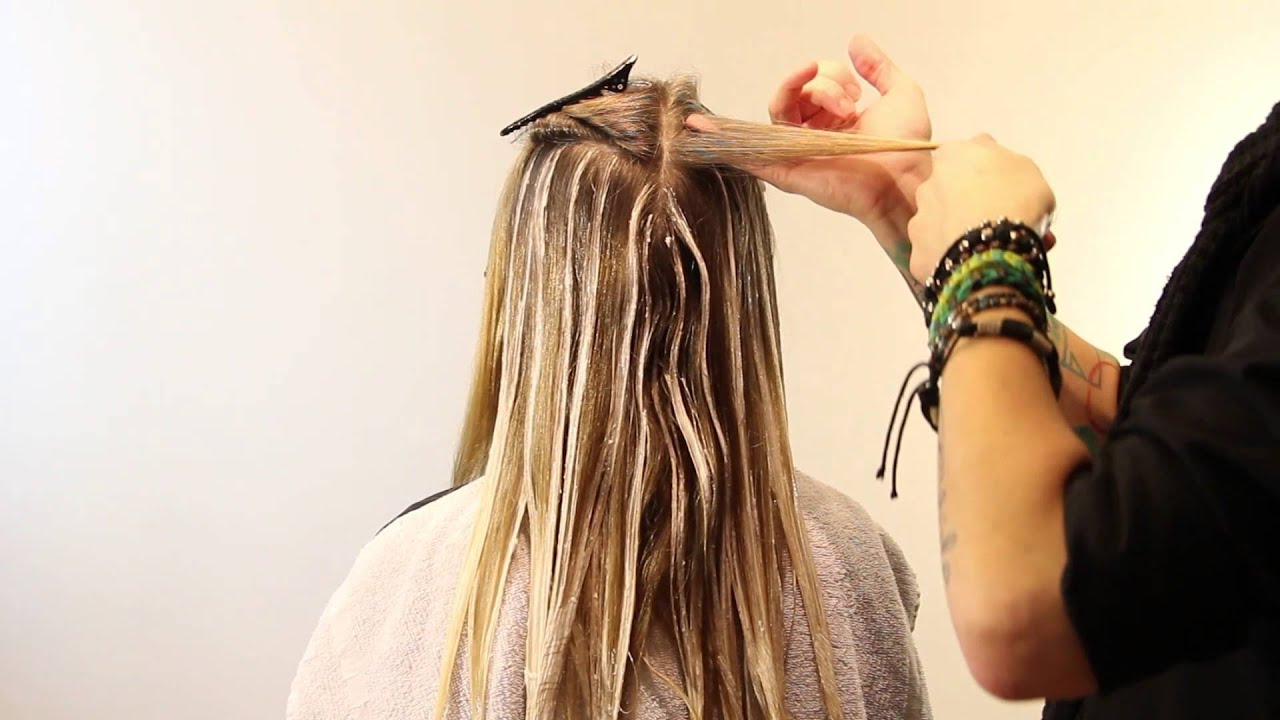 Balayage Tutorial How To Balayage Full Head Balayage