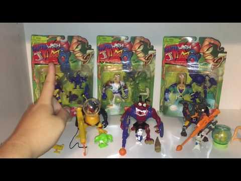 Earthworm Jim Toys / Action Figures