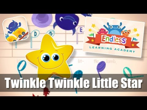 #1 | Twinkle Twinkle Little Star | Endless Learning Academy | Endless Music Activity