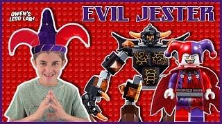Kid Review - LEGO Nexo Knights Jestro's Evil Mobile #70316 Time Lapse Build & Demo
