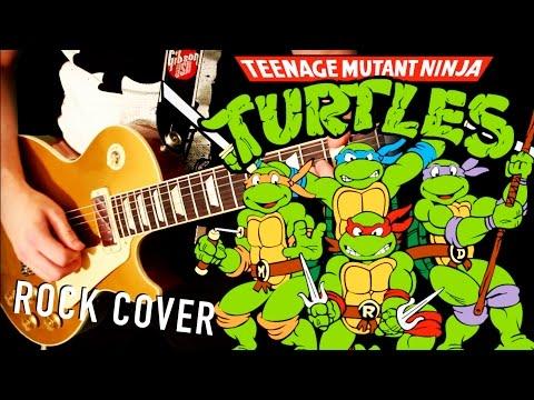 Teenage Mutant Ninja Turtles Theme | GUITAR COVER