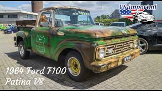 1964 Ford F100 Patina v8 | VS-import.nl