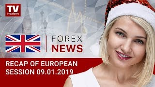 InstaForex tv news: 09.01.2019: Markets benefit from weaker dollar: EUR/USD, GBP/USD