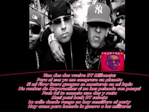 (LETRA) Cosculluela Ft. Daddy Yankee -- Probando