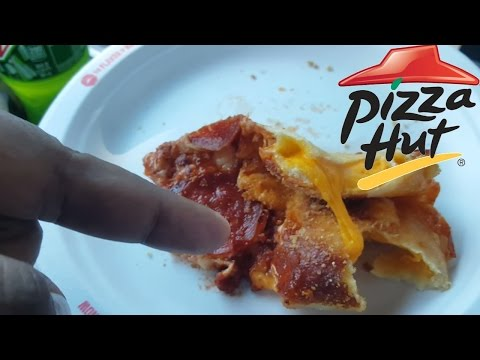 Pizza Hut WTF Grilled Cheese Crust Pizza