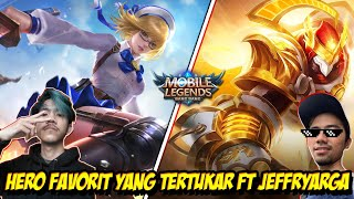 HERO YANG TERTUKAR ! MARKOCOP FANNY Ft ALDOUS JEFFRYARGA - Mobile legends
