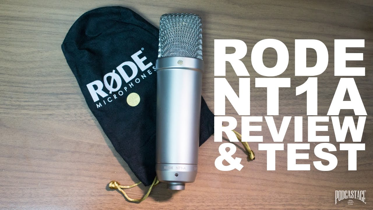 rode nt1 a anniversary condenser mic review test youtube. Black Bedroom Furniture Sets. Home Design Ideas