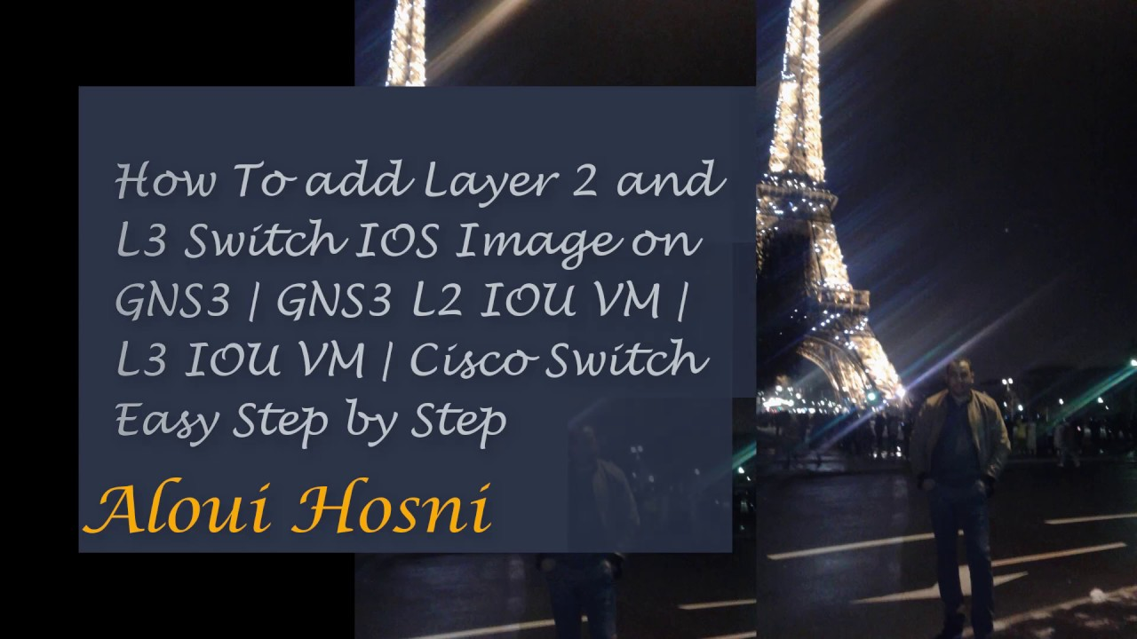 How To add Layer 2 Switch IOS Image on GNS3 | GNS3 L2 IOU VM | Cisco Switch  Easy Step by Step