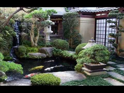 Crafts using glass landscaping blocks, japanese garden ... on Small Backyard Japanese Garden Ideas id=95346