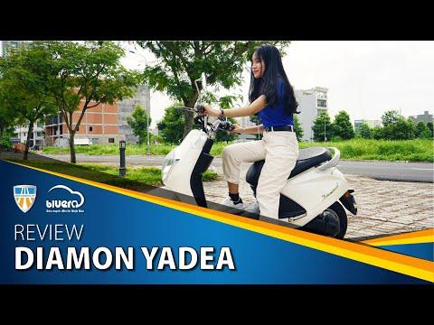 Review Xe Máy điện Diamon Yadea Cực Phẩm Thời Thượng 2018