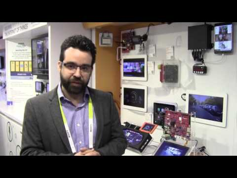 NXP Semiconductors Demonstration of Pedestrian Detection