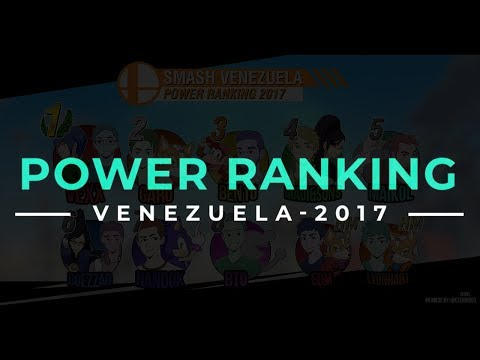 Power Ranking Venezuela 2017