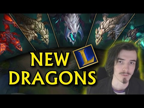 NEW ELEMENTAL DRAGONS - What Does it Mean for Junglers? League of Legends