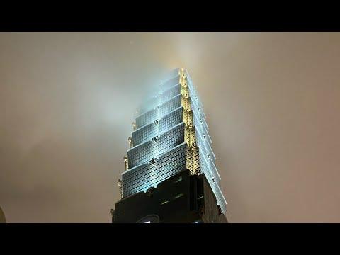 Taipei, Taiwan LIVE Night Exploration Xinyi District/Taipei 101 As A New Yorker (December 18, 2019)