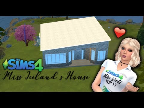 The Sims 4| Building Miss Iceland's House|