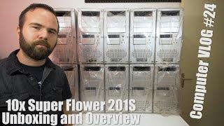 Computer VLOG24: I bought 10 Retro Aluminium ATX Cases! Super Flower 201s Case Overview