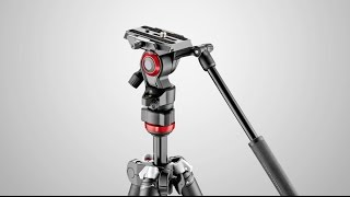 manfrotto befree live fluid video head at photoplus 2016