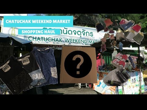 Bangkok Travel Vlog: Chatuchak Weekend Market