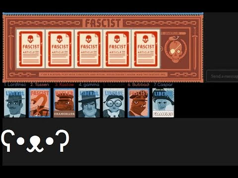 Caspar Is A Good Person? - Secret Hitler  (w/Foxhole Community Helpers and Moderators)