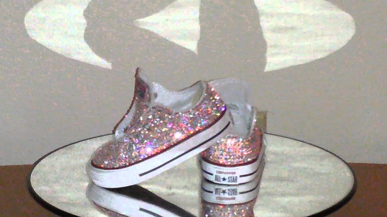8679e290273a Converse Strass in Swarovski stones - YouTube