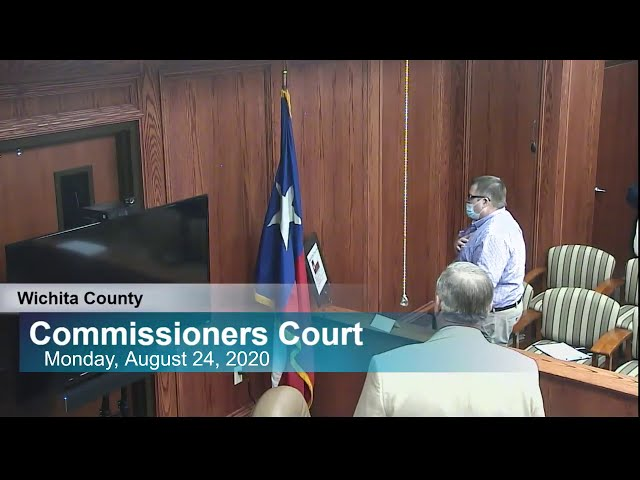 Commissioners Court 08/24/2020