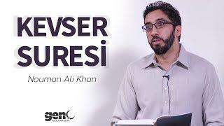 Kevser Suresi - Nouman Ali Khan Türkçe Altyazılı