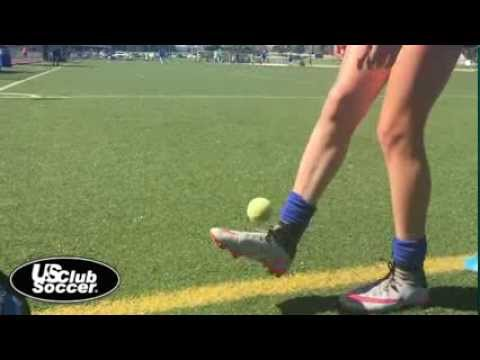 Tennis ball juggling  Players First Video Training Series
