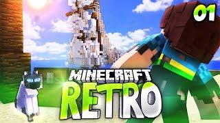 ACHTUNG NEUES ABENTEUER💥 • Minecraft RETRO #01 | Minecraft Roleplay • Deutsch | HD