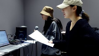 WENDY & SEULGI 'Best Friend' Recording Behind