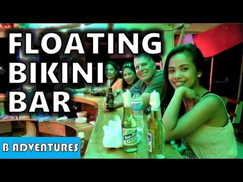 Bikini Floating Bar, Sabang Beach, Philippines S4, Vlog 29
