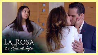 La Rosa de Guadalupe: Inés se pone celosa de la novia de su papá   El otro lado de la luna