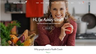 Health Coach Life Coach Wordpress Theme  Review  For 2020