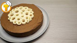 Шоколадный торт. Пошаговый рецепт.