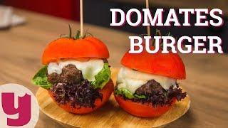 Domates Burger Tarifi (Ekmeksiz!)   Yemek.com