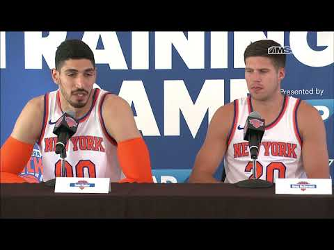 Best of Enes Kanter & Doug McDermott Interview | New York Knicks Media Day | MSG Networks