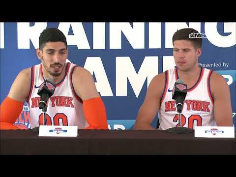 Best of Enes Kanter & Doug McDermott Interview | New York Knicks Media Day | MSG Networks