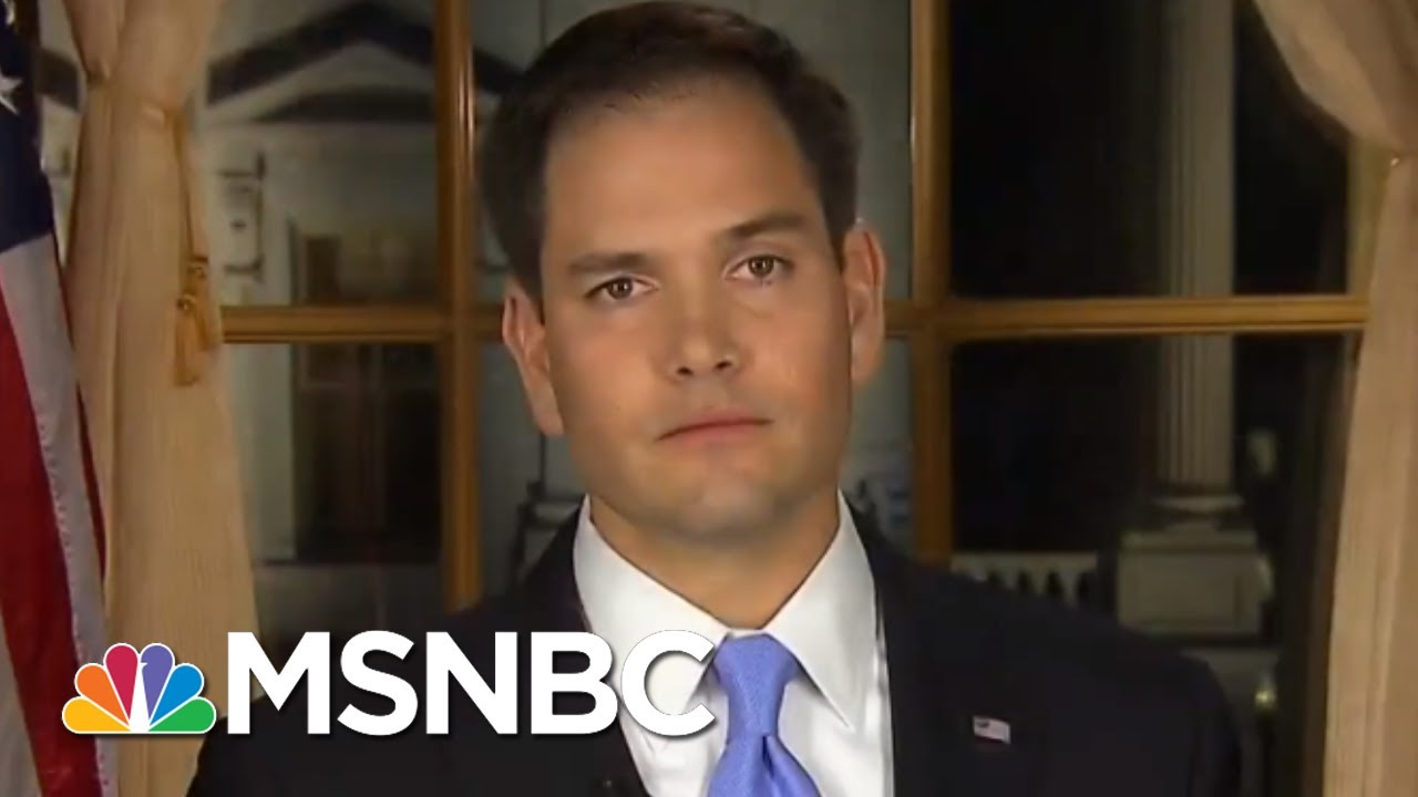 Salt Bae Versus...Marco Rubio? | All In | MSNBC