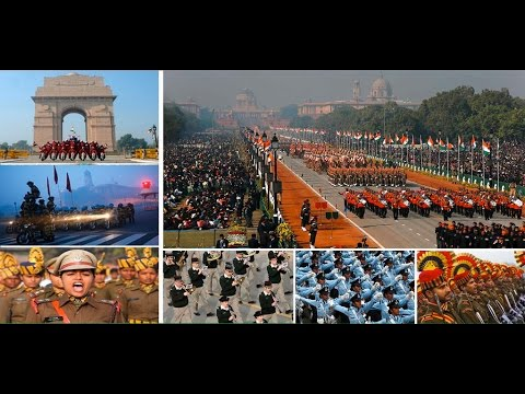 Live: Republic Day Parade -26th January 2016  at Rajpath, New Delhi