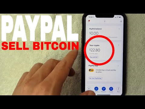 ✅  How To Sell Bitcoin On Paypal ????