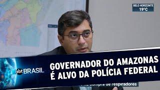 Governador Do Amazonas, Wilson Lima é Alvo De Operação Da Pf | Sbt Brasil  30/06/20