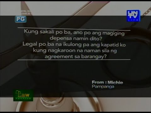 UNTV Life: Law Profile - Physical Injury Cases