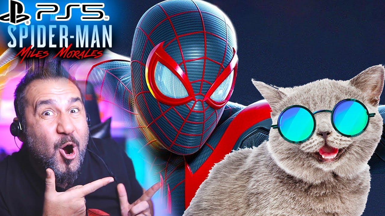 SPIDERMAN ŞOK OLDU PROWLER TANIDIK ÇIKTI! KEDİ KURTARMA GÖREVİ!   PS5 SPIDER-MAN MILES MORALES #4